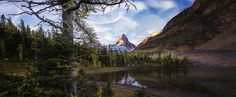 Beyond the Larch - Enough has been said lately so I'll just let the image do the talking. Capture at Sunshine Lake Mt Assiniboine Canada.  We still have a couple of spots on our tour September this year with the amazing Sarah Hatton and pano legend Chris Collacott.  oneofakind.photography