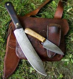 A Blog about my custom made knives.  Blog also has allot of good information on high carbon steel knife and leather care, knife sharpening and more.