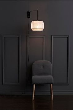 www.ellos.no markslojd corse-vegg-1l 1046793-02 Living Room, Furniture, Interior, Lamp, Table, Wall, Home Decor, Wall Lamp, Inspiration