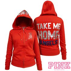 Victoria's Secret Anaheim Angels Zipper Hoodie