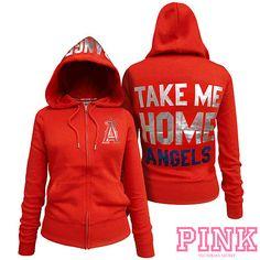 Victoria's Secret Anaheim Angels Zipper Hoodie