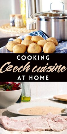 Cooking Czech cuisine at home Craving for the savory goodness of Czech food? If you want to recreate the flavors of the Czech Republic, check out this guide to cooking Czech cuisine at home. Slovak Recipes, Czech Recipes, German Recipes, Kolache Recipe, Prague Food, European Cuisine, English Food, Czech Food, International Recipes