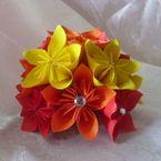 Origami flower cluster!!!