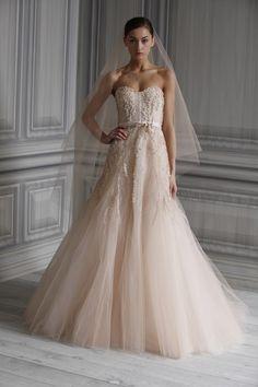 Pale Pink Wedding Dresses | ... Lhuillier 2, wedding dress events bridal market events navigation