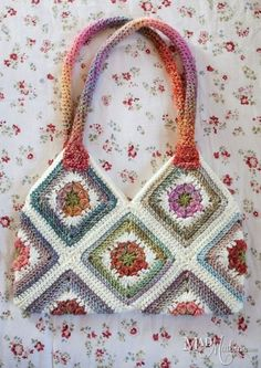 I had great time with this pattern from The Perfect Knot, the Granny Square she . I had great time with this pattern from The Perfect Knot, the Granny Square she … – Crochet Shell Stitch, Crochet Purses, Knit Or Crochet, Crochet Granny, Crochet Stitches, Crochet Patterns, Crochet Cushions, Crochet Blocks, Crochet Pillow