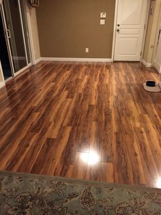 New Floor Is In Pergo Max River Road Oak Lowe S My