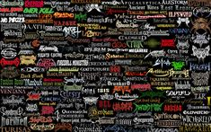The most unreadable metal band logos. They are beautiful, but very hard to read. Please try to find out the band behind these death and black metal logo's.