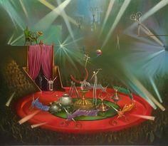 """Cirque du métal"", de Vladimir Kush"
