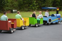 GEORGIA TRACKLESS TRAIN RENTALS FOR YOUR NEXT TRAIN PARTY Thomas