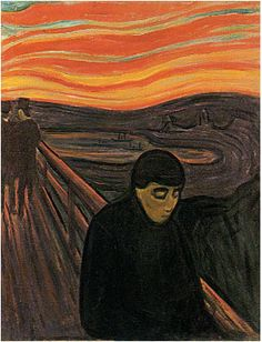 Edvard Munch, Despair, 1893-04