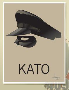 KATO by Orlando Arocena, via Behance