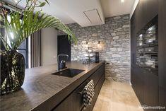 The kitchen that is top-notch white kitchen , modern kitchen , kitchen design ideas! Open Plan Kitchen Living Room, Small Space Kitchen, Small Spaces, Beautiful Kitchen Designs, Modern Kitchen Design, Cocinas Kitchen, Luxury Kitchens, Modern Kitchens, New Home Designs