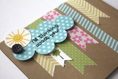 washi tape card ideas