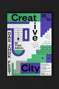 It's Nice That | Lukas Ackermann's playfully abstract identity for new Zurich culture hub