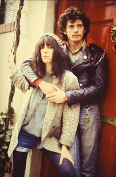 Patti Smith and Robert Mapplethorpe by Kate Simon, New York City, 1979.