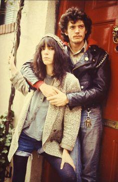 Patti Smith and Robert Mapplethorpe by Kate Simon, New York City, 1979.
