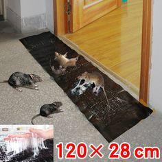 Big Size Mice Mousetrap Rodent Glue Trap Board Super Sticky Rat Snake Bugs Safe | Buy Pest Control - 2046596