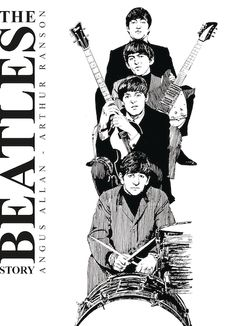 The original long-lost Beatles graphic novel! This was the very first graphic novel to chart the creation, evolution and break-up of the fab four, first published in The BeatlesStory is an exce The Beatles Story, Beatles Art, Beatles Songs, Beatles Tattoos, Rock And Roll Bands, Music Images, The Fab Four, Rock Legends, Fun Comics