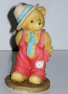 "Cherished Teddie Figure ""Logan"" | eBay #teddie #bear $3.25 Bid"