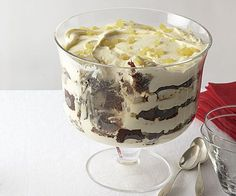 You've got to have a trifle at Christmas dinner! This luscious one marries layers of gingerbread cake, chopped crystallized ginger, and a creamy filling spiked with brandy, sparkling wine, and black tea.