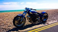 Yamaha FJ1200 - Nice, Simple & Cheap To Get Hold Of. This one has a custom frame by Hard-Up Customs, Harley V-Rod Wheels, GSXR Forks & an Aftermarket Tank.    http://pistonheads.com/gassing/topic.asp?h=1&t=1575015 and/or http://s66.photobucket.com/user/jamesnlou/media/FJ1200/20150719_152949_zpsih6w3hro.jpg.html
