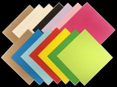 Square Coloured Envelopes 5x5 6x6 for Greeting Cards Party Invitations & Crafts #CandyRush