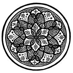 mandala line drawing designs Swirl Design, Mandala Design, Flower Mandala, Mandala Art, Mandalas Painting, Stencil Art, African Design, Designs To Draw, Drawing Designs