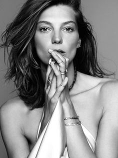 daria werbowy photographed by nico and styled by claudia englmann for marie claire france november 2013