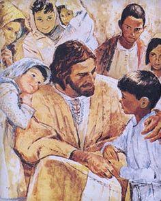 Jesus with children - Hook artist
