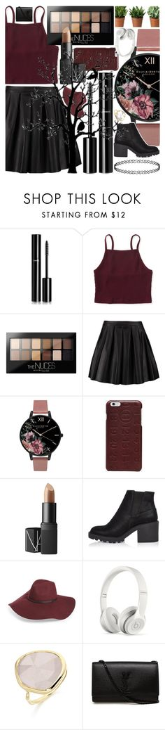 """""""💎I don't need a boyfriend💎"""" by lexi-loves-fashion ❤ liked on Polyvore featuring Chanel, Aéropostale, Maybelline, Morgan, Olivia Burton, Maison Margiela, NARS Cosmetics, River Island, Halogen and Beats by Dr. Dre"""