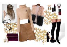"""""""60 Second Style"""" by oladda on Polyvore featuring moda, Boohoo, NARS Cosmetics, Vitaly, Valentino, Kate Spade, Steve Madden e familydinner"""