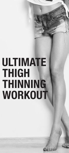 I've got to start running. ..how to lose weight in your thighs