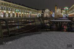 Magic of lights. Piazza San Carlo turin - Magic of lights. Piazza San Carlo turin