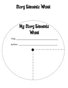 Fictional Story Elements Activity Cards: Creating a Book