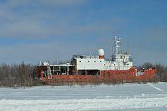 Former seismic surveying vessel, the GSI Mariner.