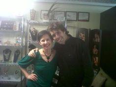 Con mi amiga, Diseñadora de Accesorios Alejandra Aceves (Diseñadora de Accesorios de Ex Miss Universo Ximena Navarrete, y varios premios en su carrera)!!!! Buena vibra!!! 12/agosto/12