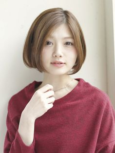 Metabes - Home, Craft and Diy Short Bob Hairstyles, Cool Hairstyles, Chin Length Bob, Cut And Style, Hair Dos, Asian Beauty, Hair Inspiration, Wigs, Short Hair Styles