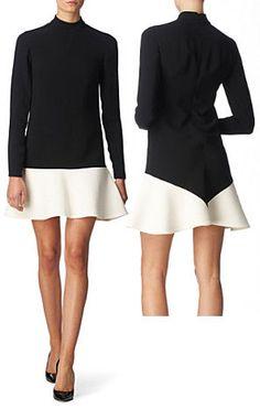 Stella McCartney Two Tone Mini Dress