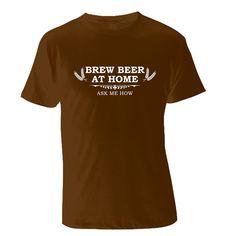 Homebrew Evangelist T-Shirt - Pick a Color. $20.00, via Etsy.
