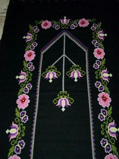 Flower Coloring Pages, Baby Knitting Patterns, Diy And Crafts, Cross Stitch, Beads, Canvas, Flowers, Towels, Needlepoint