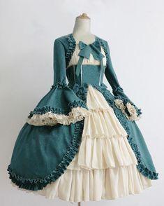 Apr 2020 - Women's Royal Gothic Vintage Medieval Mini Dress Skirt – narachic 1800s Dresses, Victorian Era Dresses, Vintage Dresses, Vintage Outfits, Frilly Dresses, Royal Dresses, Pretty Dresses, Medieval Dress, Medieval Clothing
