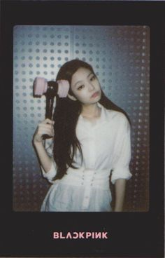 Printable BlackPink Photocard (comes with lightstick package) Blackpink Jennie, Yg Entertainment, Forever Young, Black Pink Kpop, Blackpink Members, Polaroid Photos, Polaroids, Mickey Mouse, Blackpink Photos