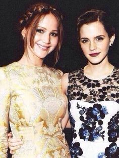 My two favorite actresses!!!!!!!!