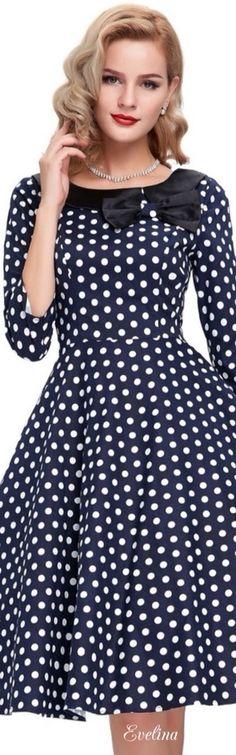 ab3577821eed 79 bästa bilderna på Polka Dots. i 2019 | Polka Dots, Dots fashion ...