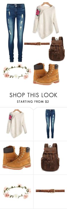 """""""Untitled #7"""" by j-zsofi ❤ liked on Polyvore featuring Vero Moda, Timberland, Accessorize and Gucci"""