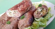 Roladki z mięsa mielonego z farszem. Sprawdź! Polish Recipes, Pork, Food And Drink, Chicken, Meat, Gastronomia, Peasant Bread, Ground Meat, Pork Roulade