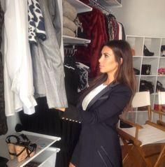 In our Kardashian Kollection showroom