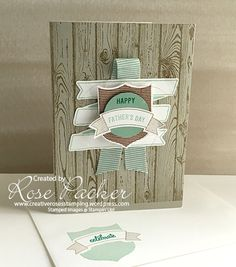 Rose Packer, Creative Roses, Stampin' Up!, Badges and banners, Bunch of banners…