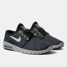 Nike SB Stefan Janoski Max - Black/Wolf Grey