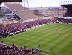 The Tyne Wear Derby between Newcastle United & Sunderland at St James Park. 1992,